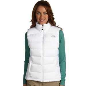 The North Face 700 Down Puffer White Vest